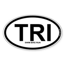 TRI - Triathlon Decal