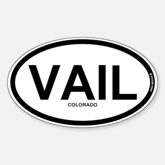 VAIL - Vail Colorado Sticker (Oval)