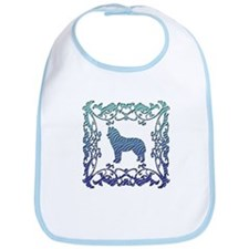 Siberian Husky Lattice Bib