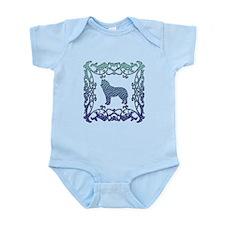 Siberian Husky Lattice Infant Bodysuit