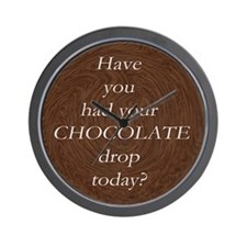 Umm, CHOCOLATE! Wall Clock