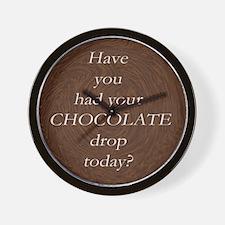 Umm, CHOCOLATE! Wall Clock