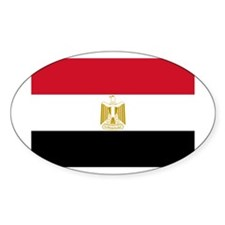 Cute Egypt flag Decal