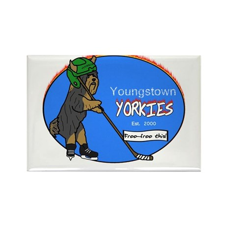 Youngstown Yorkies Rectangle Magnet