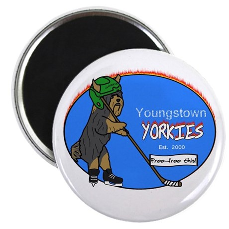 Youngstown Yorkies Magnet