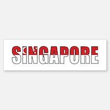 Singapore Bumper Bumper Sticker