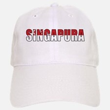 Singapore (Malay) Baseball Baseball Cap