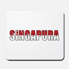 Singapore (Malay) Mousepad