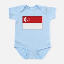 Singapore Flag Onesie