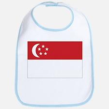 Singapore Flag Bib