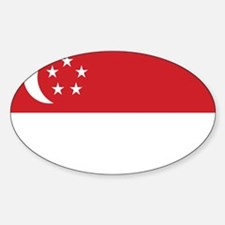 Singapore Flag Decal
