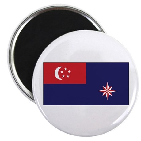 Singapore Govt. Ensign Magnet