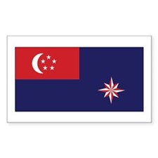 Singapore Govt. Ensign Decal