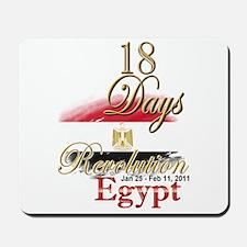 18 Days Revolution - Mousepad