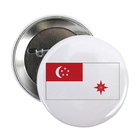 "Singapore Naval Ensign 2.25"" Button (10 pack)"