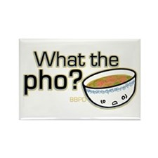 What the Pho Rectangle Magnet