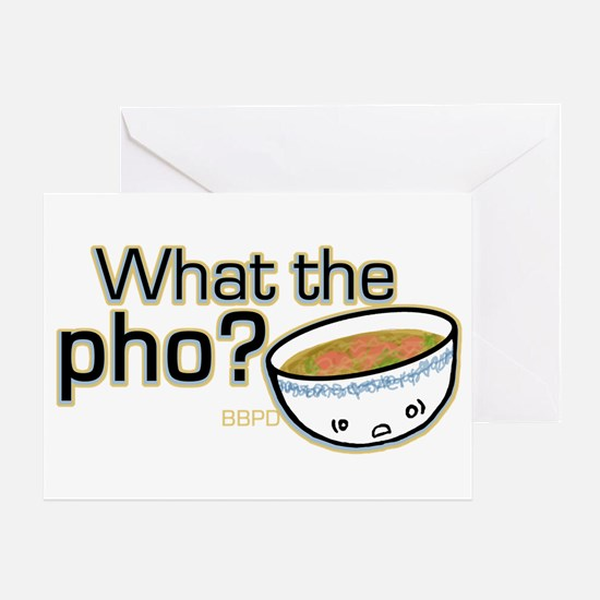 What the Pho Greeting Card