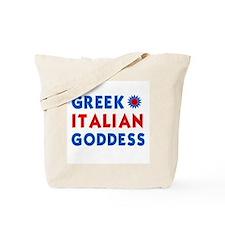 Italian Greek Goddess Tote Bag
