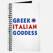 Italian Greek Goddess Journal