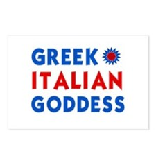 Italian Greek Goddess Postcards (Package of 8)