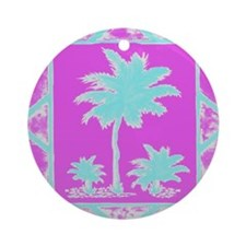 Lilly Palms  Ornament (Round)