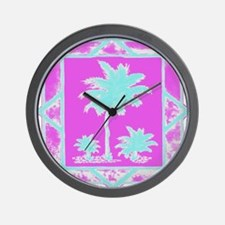 Lilly Palms  Wall Clock