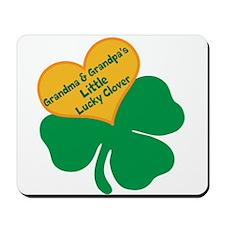 Lucky Clover/Grandma & Grandpa Mousepad