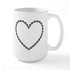Chain Heart Mug