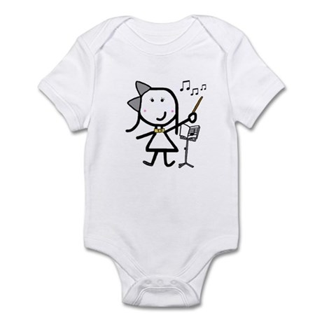 Girl & Conductor Infant Bodysuit