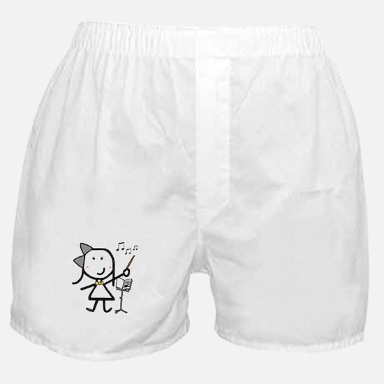 Girl & Conductor Boxer Shorts