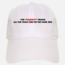 The majority means Baseball Baseball Cap
