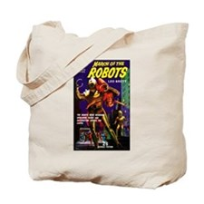 March of the Robots Tote Bag