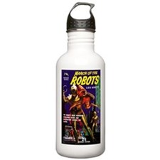 March of the Robots Water Bottle