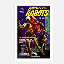 March of the Robots Postcards (Package of 8)