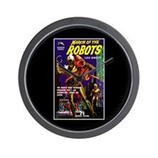 March of the Robots Wall Clock