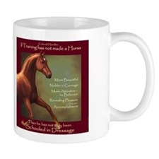 Dressage Quotation Mug