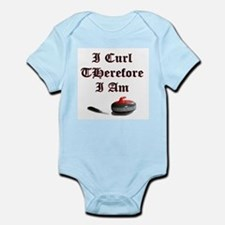 I Curl Therefore I Am Infant Creeper