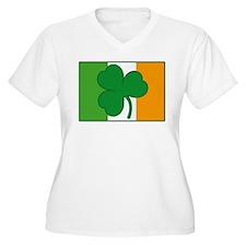 Shamrock Ireland Flag T-Shirt