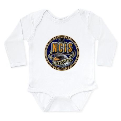 US Navy NCIS Long Sleeve Infant Bodysuit