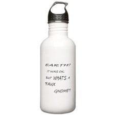 Faux Gnome Water Bottle