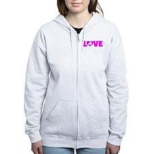 LOVE SHELTIE Zip Hoodie