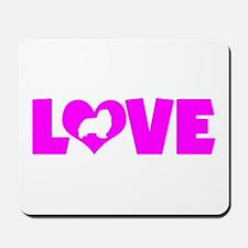 LOVE SHELTIE Mousepad