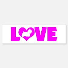 LOVE SEALYHAM TERRIER Car Car Sticker
