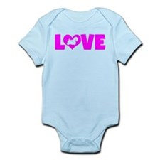 LOVE SEALYHAM TERRIER Infant Bodysuit