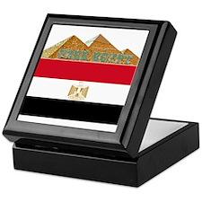 Free Egypt Flag Keepsake Box