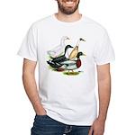 Duck Quartet White T-Shirt