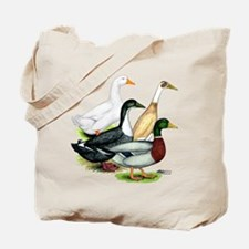 Duck Quartet Tote Bag