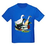 Duck Quartet Kids Dark T-Shirt