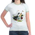 Duck Quartet Jr. Ringer T-Shirt
