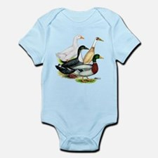 Duck Quartet Infant Bodysuit